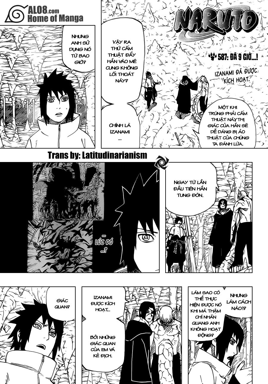 Naruto chap 587 Trang 1 - Mangak.info
