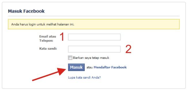 Panduan Membuat Halaman Facebook Baru