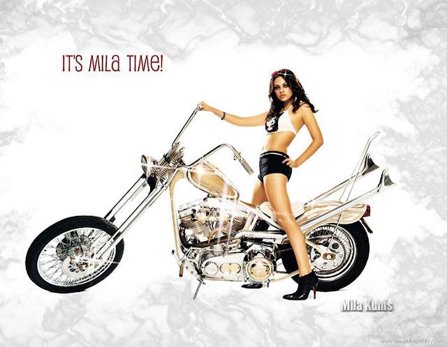 Mila Kunis Pretty Photo Shoot