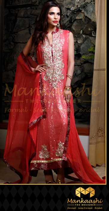 Mankaashi designer and embroidered formal wear clothing