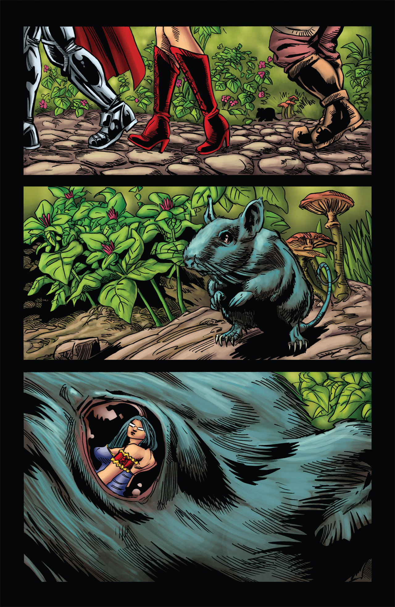 Grimm Fairy Tales (2005) Issue #58 #61 - English 18