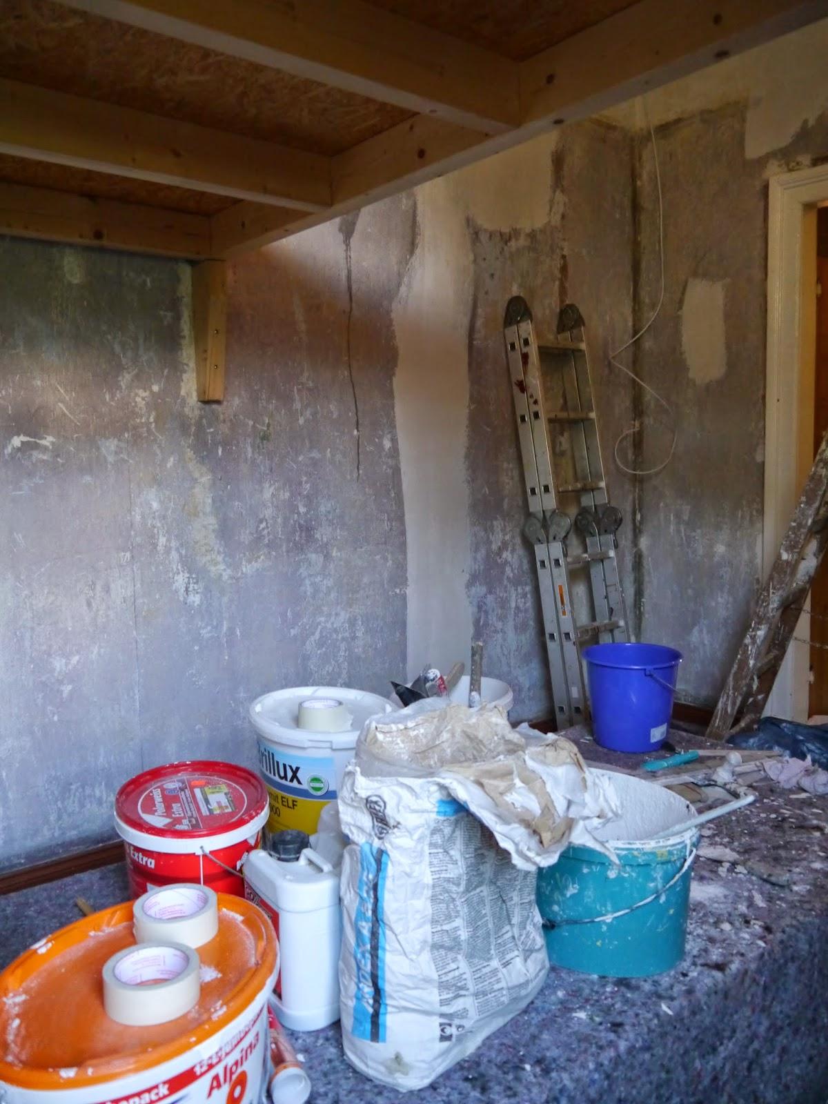 Die weltenbauer : vom spielzimmer entkernen, streichen und lasieren
