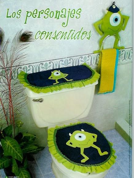 Moldes para juegos de baño   revistas de manualidades gratis
