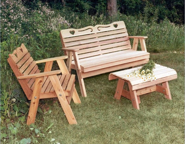 Creekvine Designs Cedar Country Hearts Furniture Collection