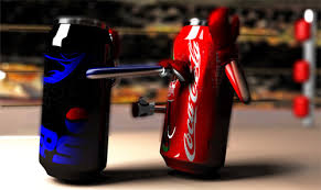 pepsi and cocacola boxing