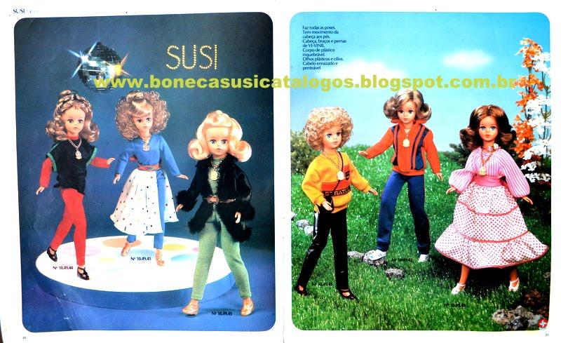 Catálogo boneca Susi 1980