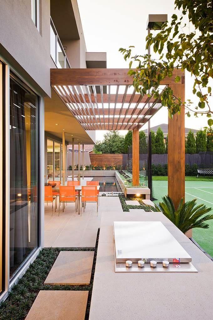 construccin de tu prgola o porche de madera as como los distintos suelos y los muebles de exterior para crear ese espacio nico y seguramente el ms