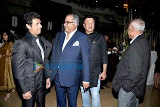 Celebrities grace the Sahara Pariwar bash for Sridevi
