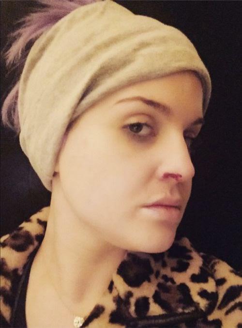 Suddenly nosebleed: Kelly Osbourne is afraid | She is worried