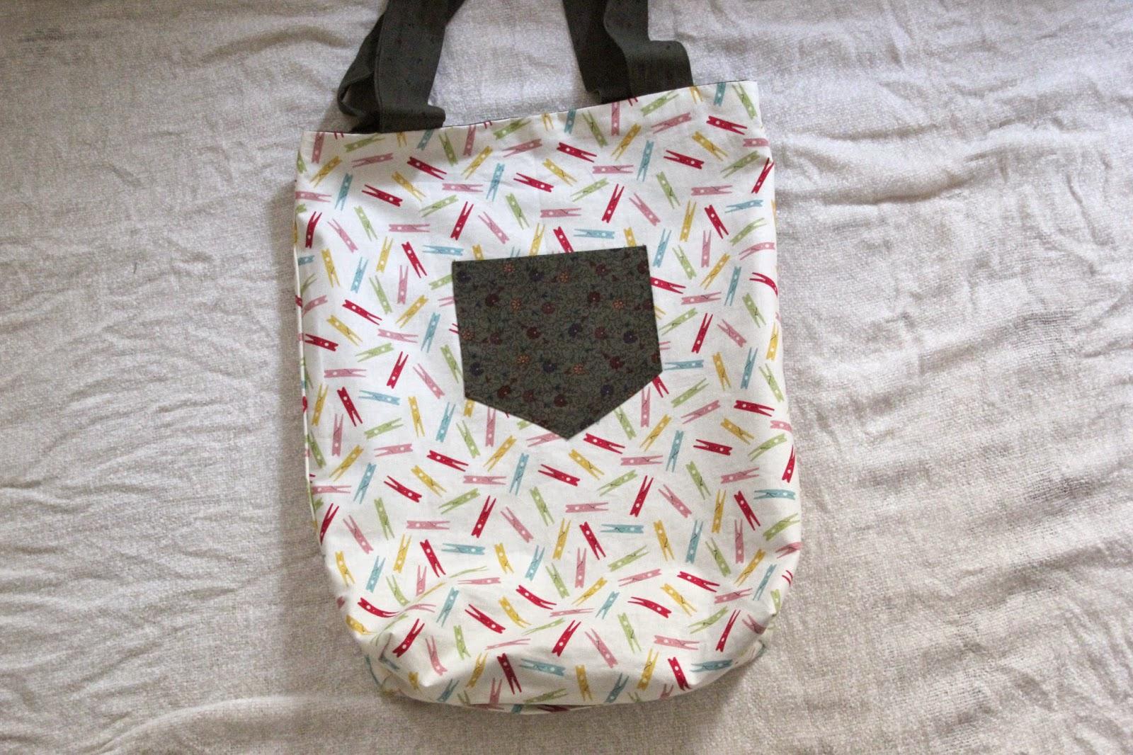 DIY Costura fácil cómo hacer bolso en dos colores