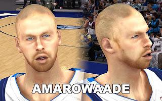 NBA 2K13 Chris Kaman Cyber Face Patch