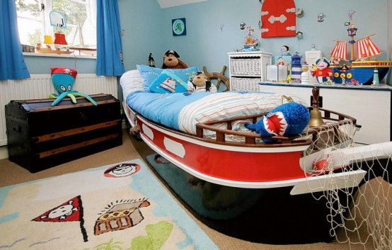 Kid's theme beds, bunkbeds and bedroom furniture for your child's room