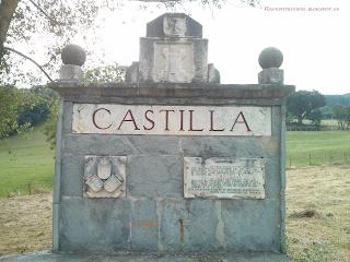 Monumento conmemorativo en Taranco de Mena