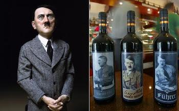 Botellas de vino con la cara de Aldolfo Hitler indignan en Italia