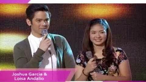Joshua Garcia and Loisa Andalio on Kris TV