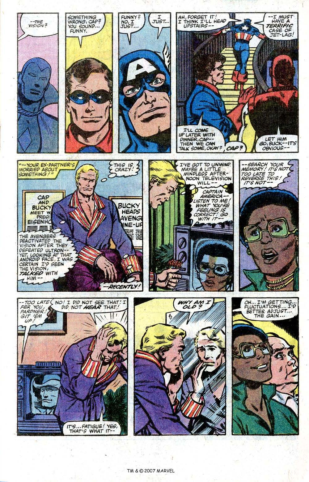 Captain America (1968) Issue #264 #179 - English 9