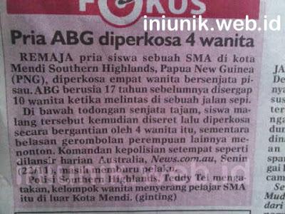 Heboh 4 Wanita CantiK Perkosa ABG Remaja - www.iniunik.web.id