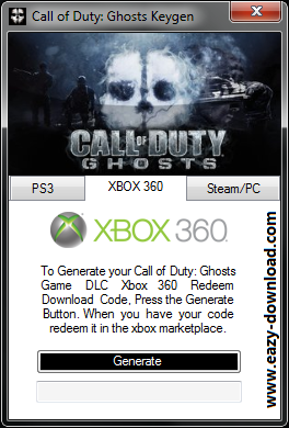 Call of Duty: Ghosts Keygen