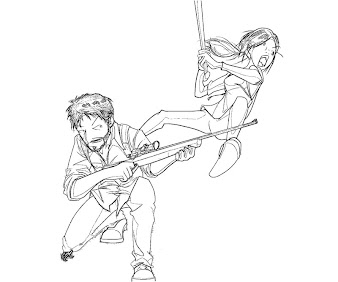 #5 The Last of Us Coloring Page