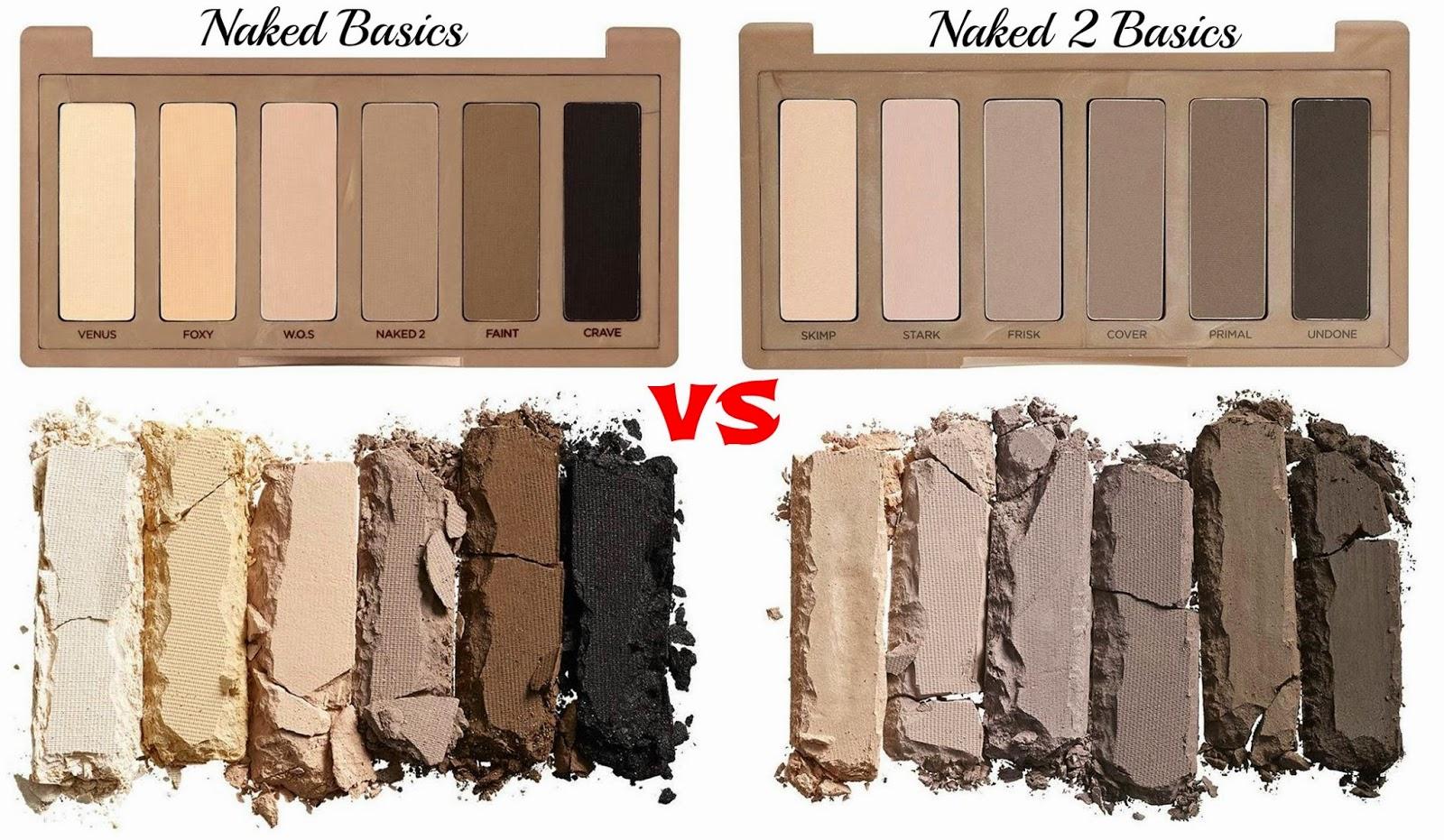 Naked Basics VS Naked Basics 2