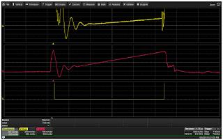 Using a differential amplifier with fast overdrive recovery makes for accurate on-resistance measurements