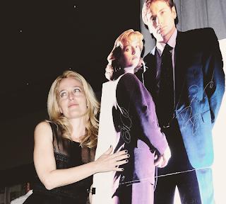 Gillian Anderson Comic Con 2013