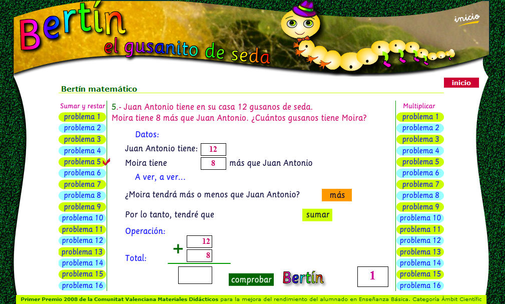 http://www.duendecrispin.com/gusanito-de-seda/bertin-matematico.html