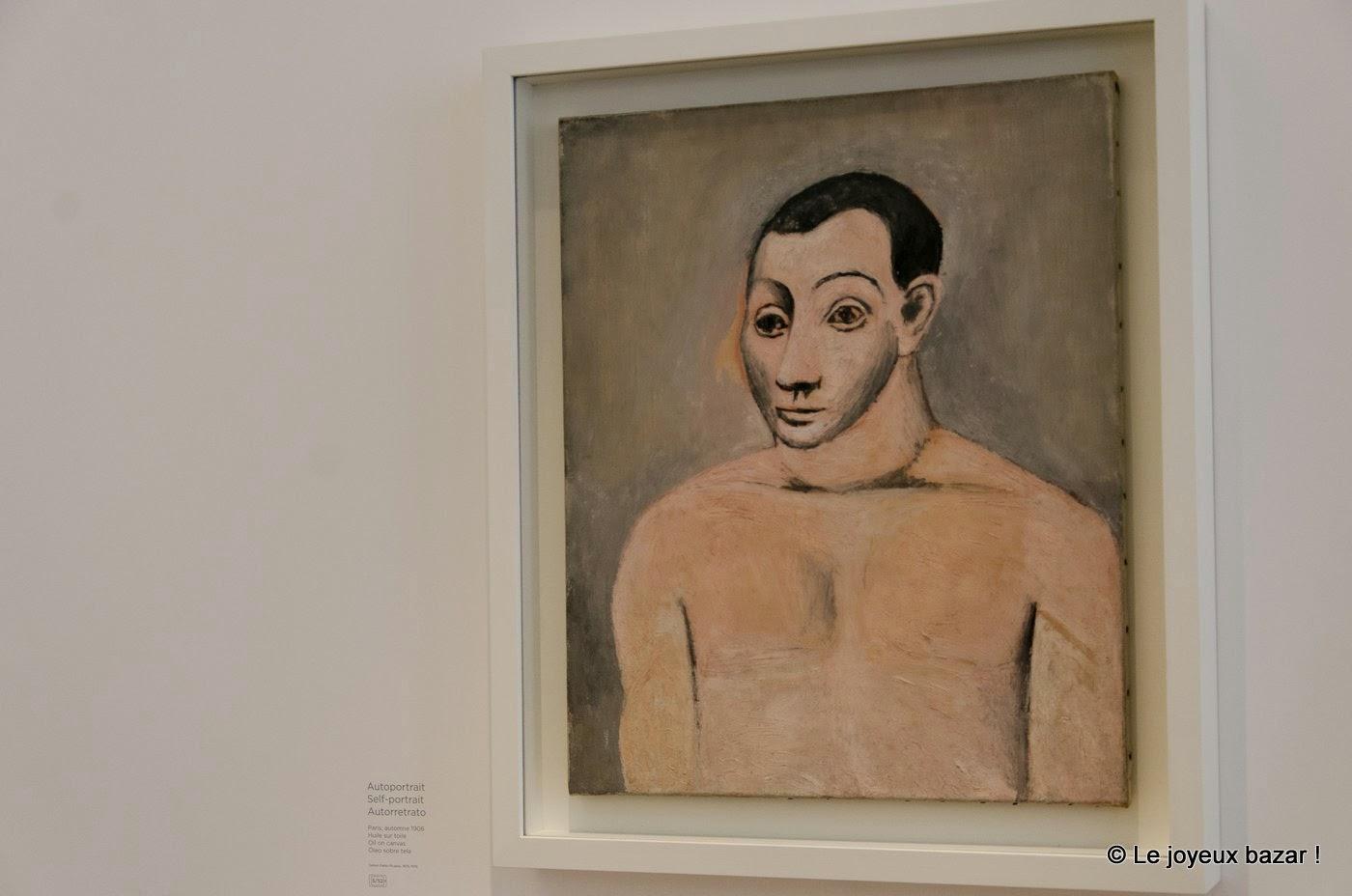 Musee Picasso - Paris - autoportrait