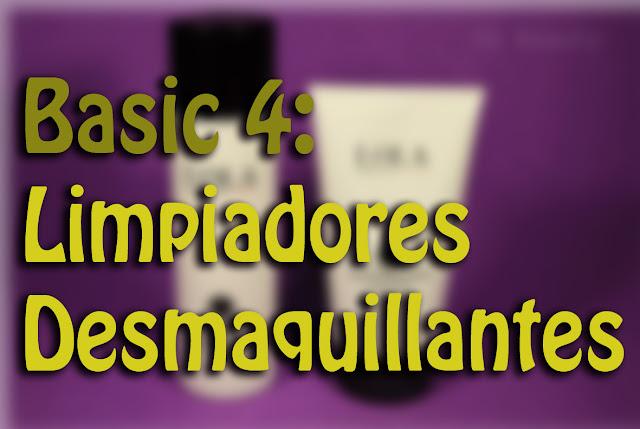 Básicos 4 Limpiadores y Desmaquillantes face cleanser Silvia Quiros SQ Beauty