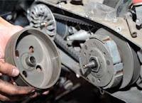 Tips Merawat Kopling Motor Matik / Sproket