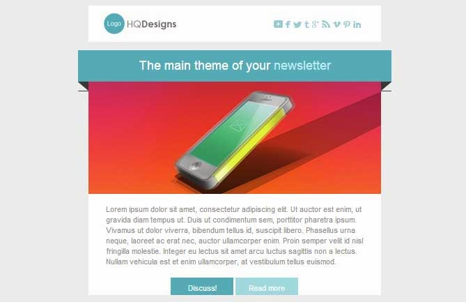 Good News – Powerful Email Template