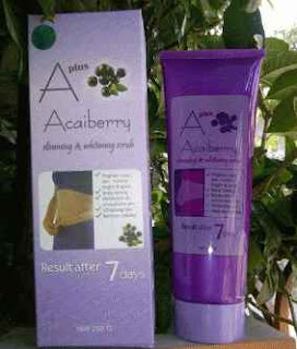 jual a plus acai berry scrub