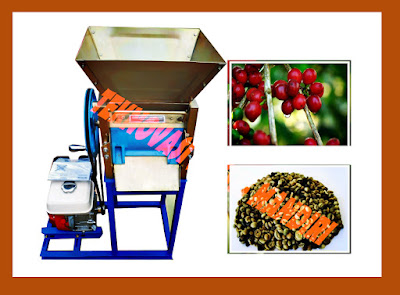 mesin pengupas kulit kopi basah