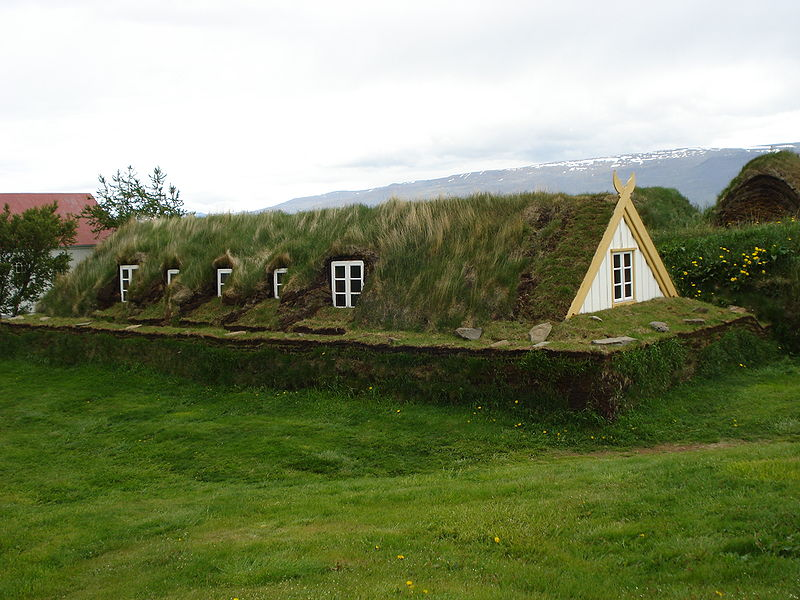 Allpe medio ambiente blog casas de hierba en islandia - The cob house the beauty of simplicity ...