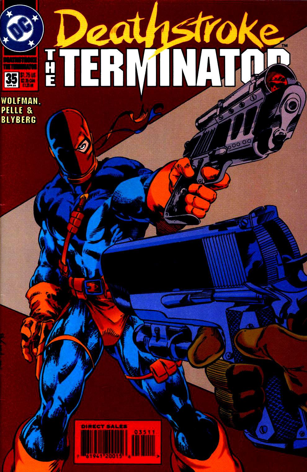 Deathstroke (1991) Issue #35 #40 - English 1