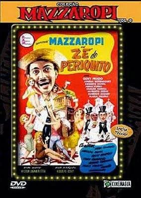 Filme Mazzaropi Zé Do Periquito Nacional AVI DVDRip