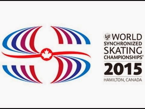 World Synchronized skating championships 2015, Hamilton, Canada