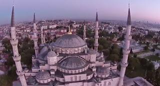 Un drone se crashe sur la mosquée d'Istanbul