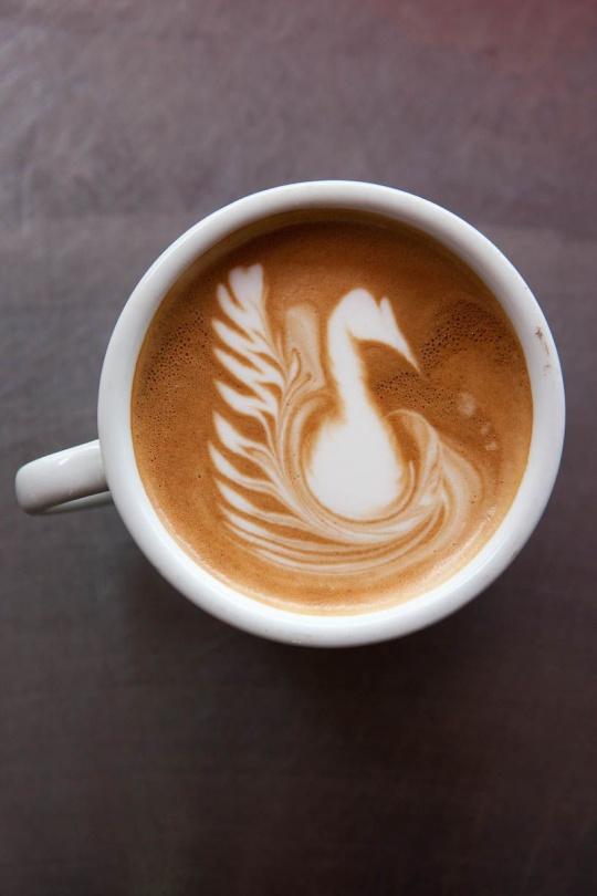 50 creative coffee art designs