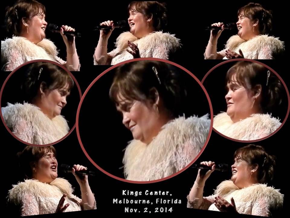 Susan Boyle USA Concert Tour - Oct 8 - Nov 6, 2014