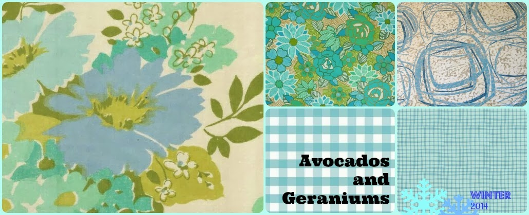 Avocados and Geraniums