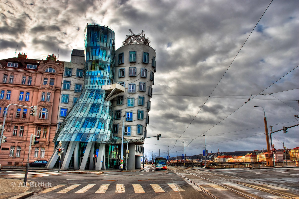 Art of design dancing house prague czech republic for Unique hotel prague