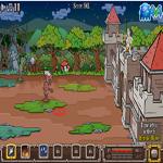 لعبة الدفاع عن القلعة من الزومبي