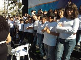 Coro Esc 17 en 2º Festival Orquestas Juv en Avellaneda