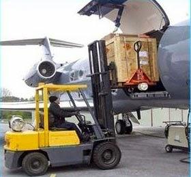 pengiriman barag via udara