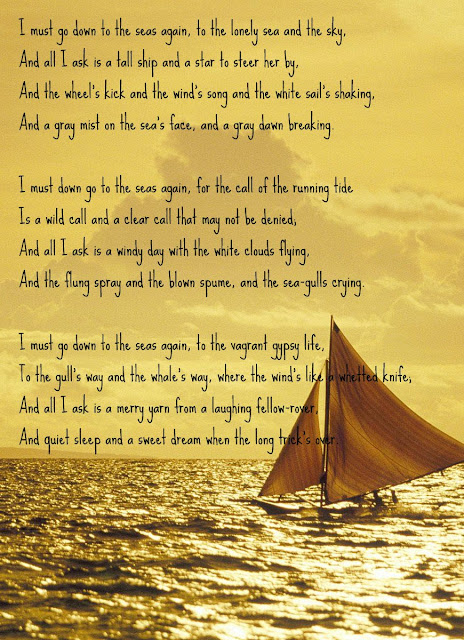 an analysis of sea fever by john masefield View homework help - analysis of sea fever by john masefield from lit 210 at university of phoenix.
