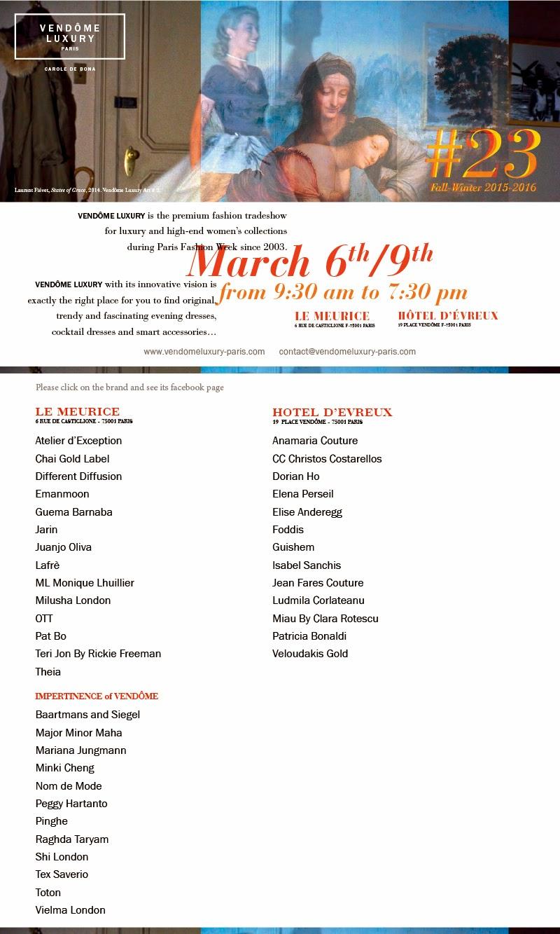 Vendôme Luxury Session #23