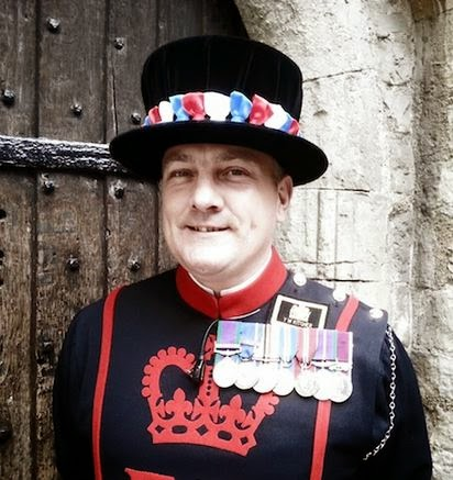 Yeoman Warder Kevin Kitcher  (From Londonist out Loud)