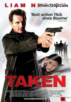 Taken 2008 poster