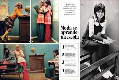 propaganda anos 70. Moda anos 70. História década 70. moda feminina anos 70.
